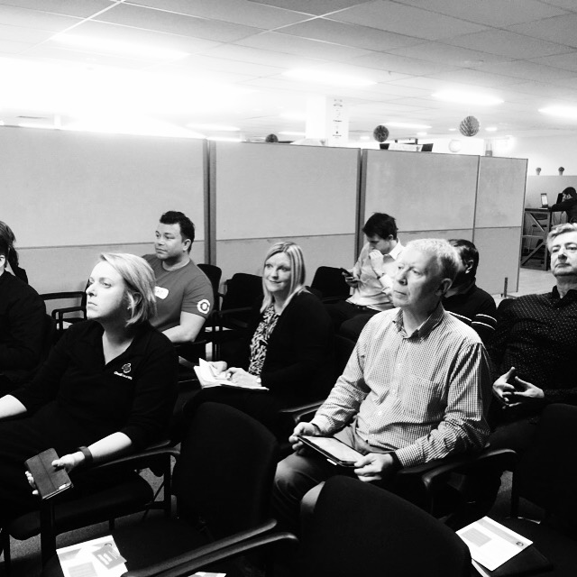 Xero Mastermind attendees mesmerised by the presentation