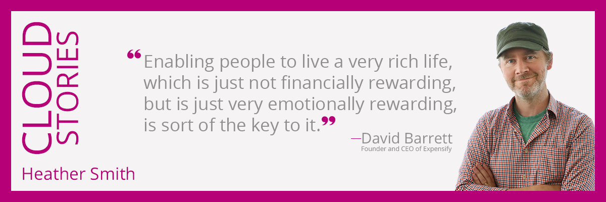 Enabling people to live a very rich life, which is just not financially rewarding, but is just very emotionally rewarding, is sort of the key to it.