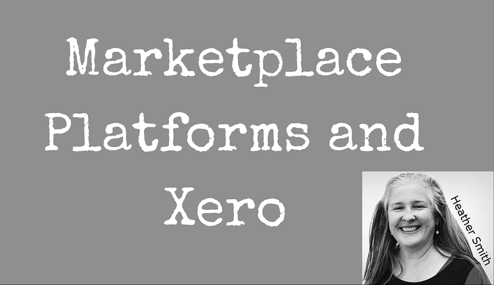 Marketplace Platforms and Xero