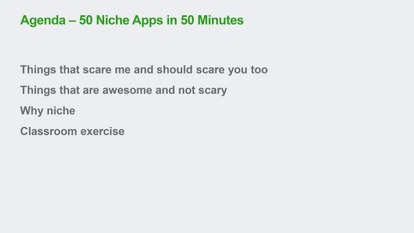 The benefits of niching in Accounting Apps | Heather Smith
