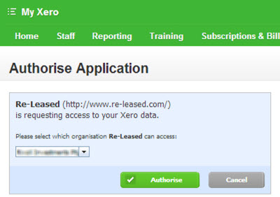 Xero and Released Integration Image Four