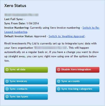 Xero and Released Integration Image Nine